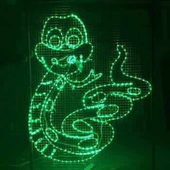 景区灯光节以如此青睐梦幻灯光节厂家动态艺术灯光秀出售