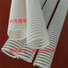 厂家直销呼吸器专用pu塑筋管聚氨酯塑筋螺旋管工业软管