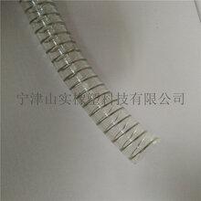 山实食品级钢丝PU塑料管食品级软管医药级工业软管