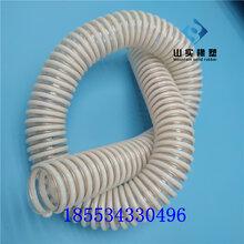 pu塑筋管白色筋pu軟管防靜電軟管圖片