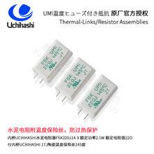 供应Uchihashi日本内桥,水泥电阻器F5K100J14
