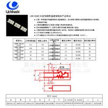 杭州Uchihashi内桥温度保险丝电阻A5MC-150JK