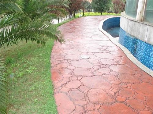 (行业):盐城水泥压花路面--脱膜粉