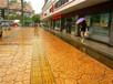 (技术):盐城仿石压花地坪--城市绿道