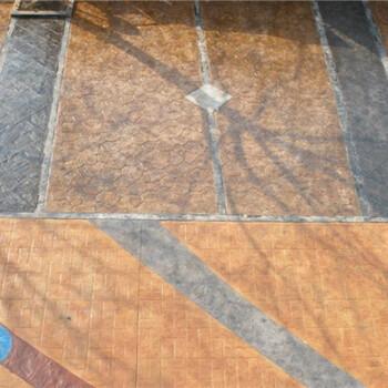 (行业):扬州仿木模压地坪--施工案例