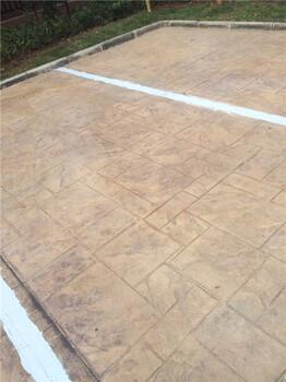 (技术):铜陵仿石压花地坪--材料批发