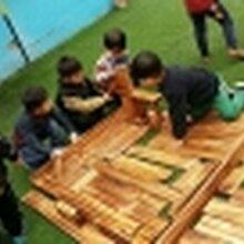 济南幼儿园玩教具厂家/儿童益智积木玩具批发/大型户外搭建积木