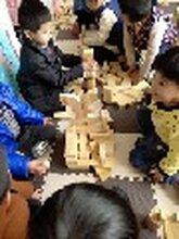 供应幼儿园户外大型碳化积木儿童木质积木玩具