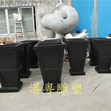 景观艺术小品玻璃钢花盆雕塑不规则花盆厂家生产定制图片