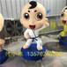 環保港粵雕塑吉祥物雕塑造型美觀,動漫IP公仔