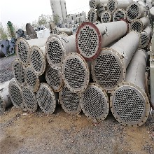 邯郸长期出售二手列管冷凝器、二手不锈钢列管冷凝器、二手石墨冷凝器