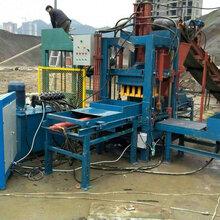 水泥磚機設備價格液壓全自動水泥墊塊機生產廠家圖片