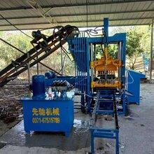 多功能水泥磚機水泥空心磚機靜壓墊塊機鋼筋水泥墊塊機生產廠家圖片