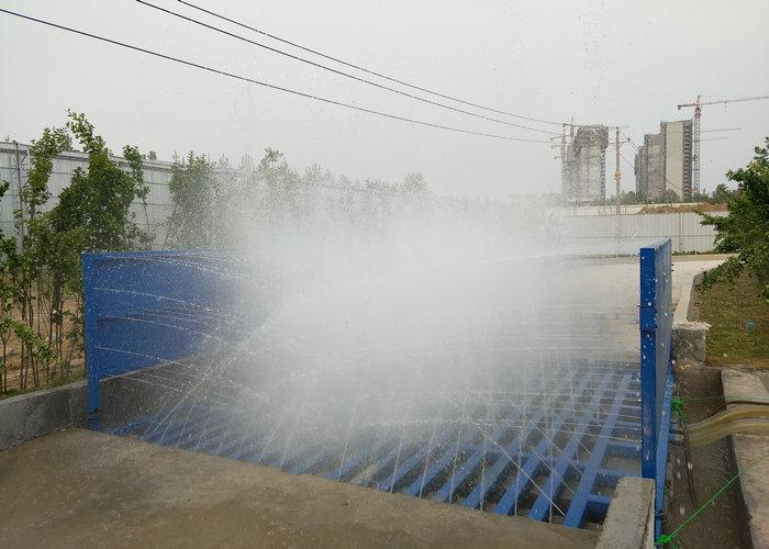 新闻:新郑工地洗车机规格尺寸绿森来介绍