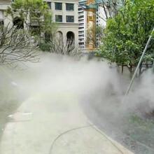 黃石噴霧降溫系統保養方法圖片