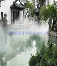 周口山水造景雾化系统产生负氧离子图片