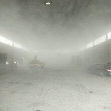 许昌车间喷雾除尘设备安装图片