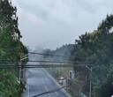 西安高杆旋转喷雾系统施工图片