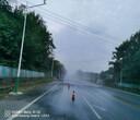 郑州高杆旋转喷雾系统施工图片