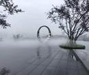 洛阳小区人造雾系统安装图片
