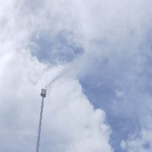 邢台降尘喷雾设备施工图片