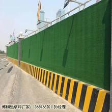绿色塑料草坪工地工程怎么搭设《现货库存》_伊宁市有现货图片
