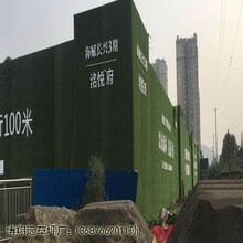 商洛市洛南县工地围挡假草坪_一站式服务图片