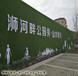 江西房地产假草坪围挡图片哪个厂家便宜青岛博翔远BF2012