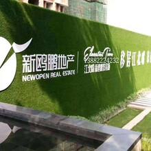 地產項目綠色草皮墻面