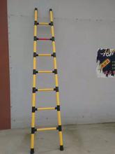厂家直供高空作业防护专用鱼竿梯超轻绝缘竹节梯定制冀航