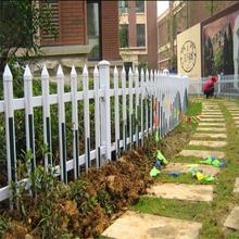 塑鋼草坪護欄、pvc庭院圍欄、pvc護欄現貨廠家圖片