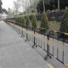 黄黑铁栏杆现货供应