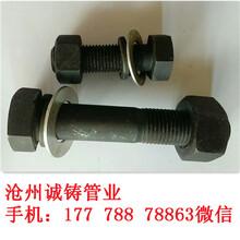 8.8級熱鍍鋅螺栓35crmo標準螺栓35crmo熱鍍鋅螺栓緊固件圖片