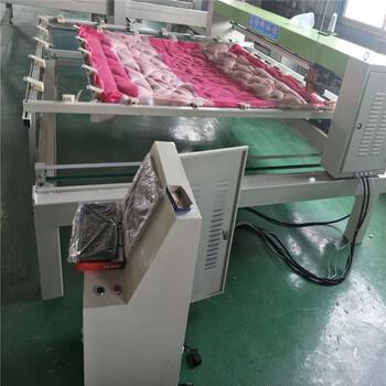 单针电脑绗缝机多少钱花型被子绗缝机
