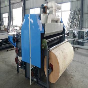 厂家供应棉花梳理机自吸尘棉被胎弹花梳棉机价格