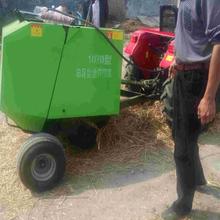 行走式捡拾打捆机厂家秸秆牧草自动捡拾打捆打捆机功能介绍图片