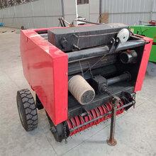 自动麦秸捡拾打捆机哪里好行走式捡拾打捆机专业稻草捡拾打捆机图片