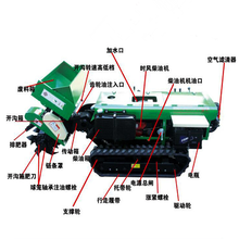 果園自走式開溝機價格履帶式旋耕機鋤草機圖片