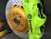 奥迪A3前轮刹车系统升级意大利进口bremboGT六活塞卡钳分泵刹车套装