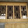 陕西西安松木老榆木实木门窗仿古门窗以及门窗定制