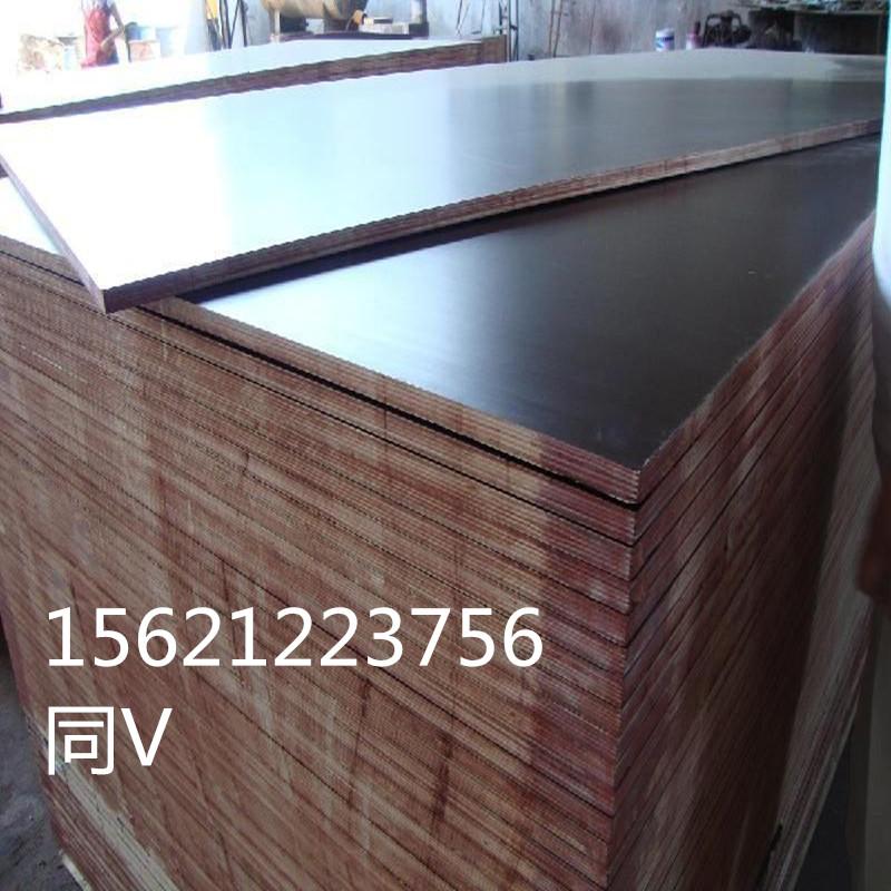 清水黑模板高档建筑清水模板浇铸成型效果好山东星冠木业