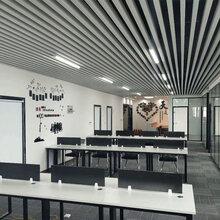 办公室铝方通吊顶U槽方通50X90图片