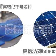 河南分布式光伏发电系统补贴280W双玻双面太阳能电池板组件