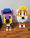 兒童新品epp積木玩具造型單個人物卡通動物廠家直銷大樂高
