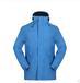 江蘇防暴雨沖鋒衣工作服生產廠家-全壓膠藍色沖鋒衣定做