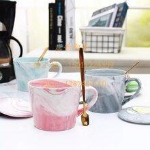 陶瓷会议杯礼品杯-定做瓷杯子-创意大理石纹办公咖啡杯-陶瓷咖啡杯-北京瓷器定做