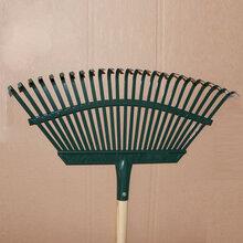 供应园林草耙25齿耙草坪耙农用工具图片