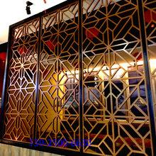 餐廳鋁花格廠家直供圖片