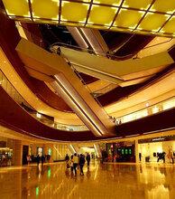 购物商场电梯自动扶梯包边铝板图片