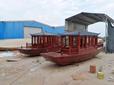 精心打造江南水乡特殊一小时电动小画舫木船6人座观光旅游船出售图片